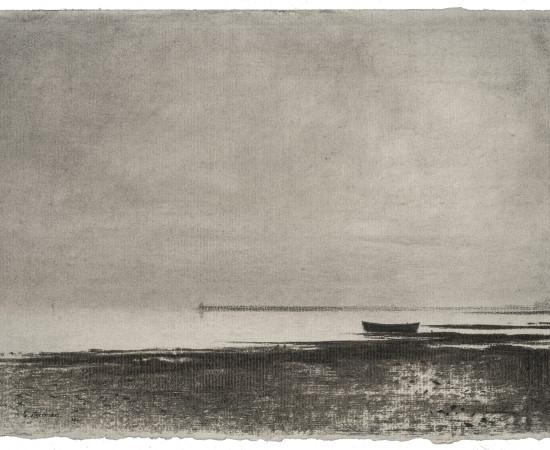 Gunnar Norrman, Mörk strand, 1953