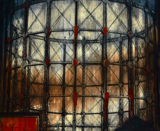 Jenny Robinson, London gasometer