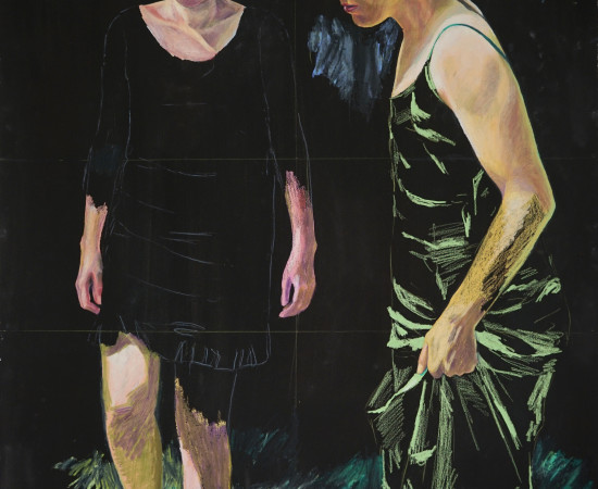 Lucile Piketty, Deux sœurs - I, 2019