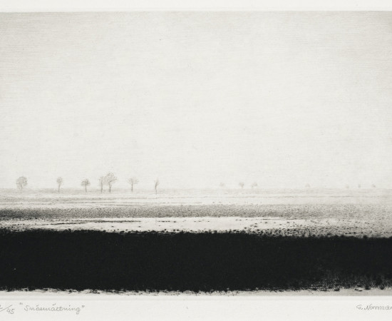 Gunnar Norrman, Snösmältning, 1982