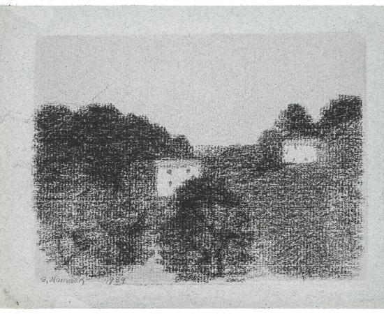 Gunnar Norrman, Hus i bergen, 1989