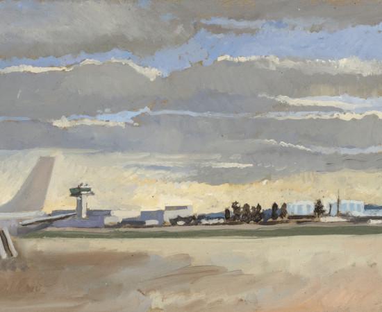 Charles-Élie Delprat, Orly - quelques nuages, 2018
