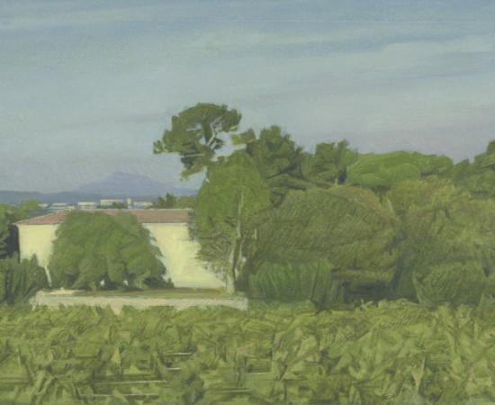 Jean-Michel Bacquet, Le Château de Selle, matinée d'automne, 2011-2020