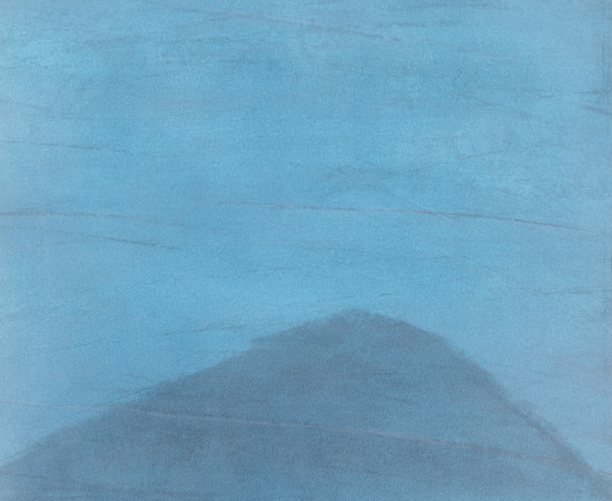 Farhad Ostovani, Montagne en bleu (#5), 2019