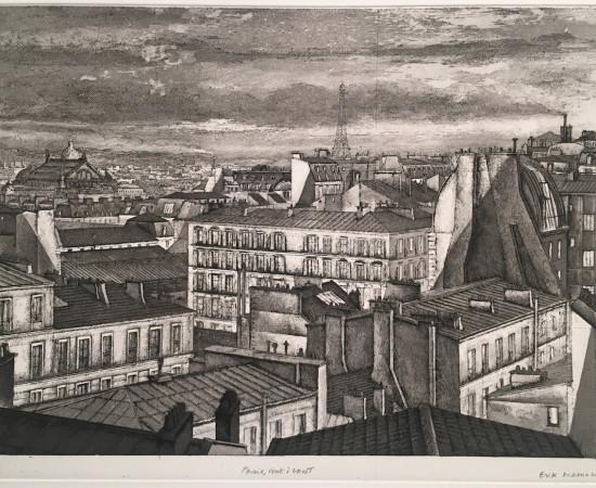 Érik Desmazières, Paris, vent d'ouest, 1995