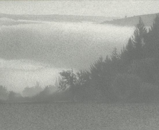 Jean-Michel Bacquet, Nuage de brume sur Montarnal, 2014