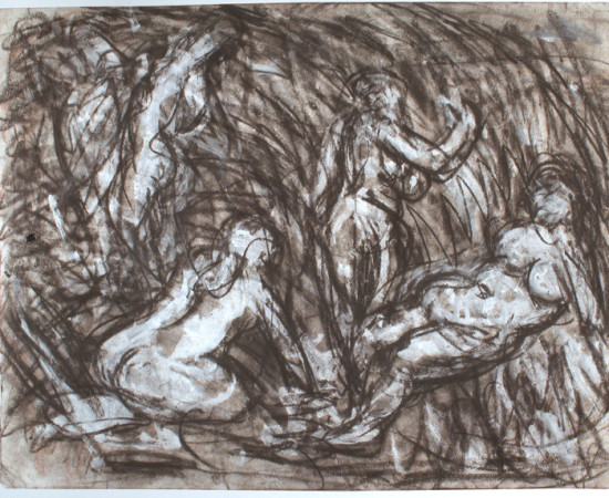 <span class=&#34;artist&#34;><strong>Leon Kossoff</strong></span>, <span class=&#34;title&#34;><em>From Cezanne: The Temptation of St Anthony</em>, 1980's</span>