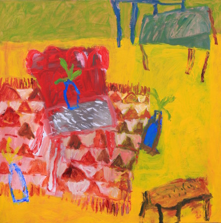 "<span class=""artist""><strong>David Pearce</strong></span>, <span class=""title""><em>Indian Rug</em></span>"