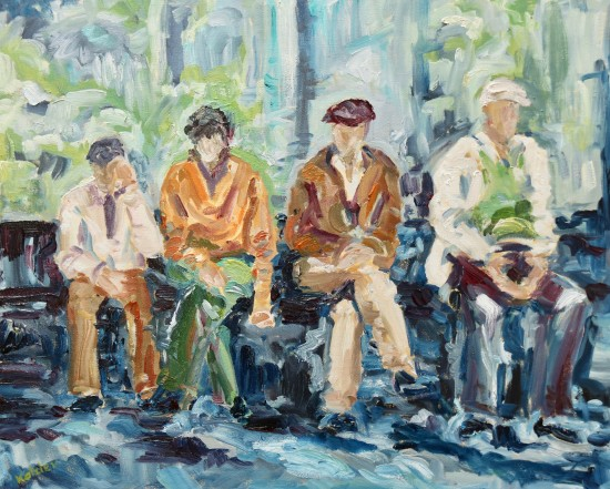 "<span class=""artist""><strong>Fi Katzler</strong></span>, <span class=""title""><em>Passing Time (London Gallery)</em></span>"