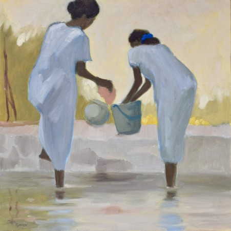 """<span class=""""artist""""><strong>Clare Granger</strong></span>, <span class=""""title""""><em>Washing in the Backwaters</em></span>"""