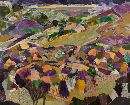 """<span class=""""artist""""><strong>Dione Verulam</strong></span>, <span class=""""title""""><em>Resting in the Hills</em></span>"""