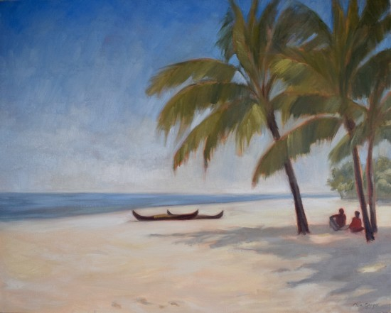 """<span class=""""artist""""><strong>Clare Granger</strong></span>, <span class=""""title""""><em>Sitting in the Shade</em></span>"""