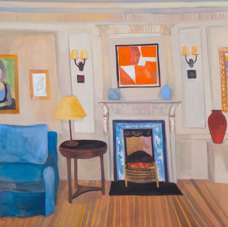 "<span class=""artist""><strong>Lottie Cole</strong></span>, <span class=""title""><em>Interior with Sandra Blow</em></span>"