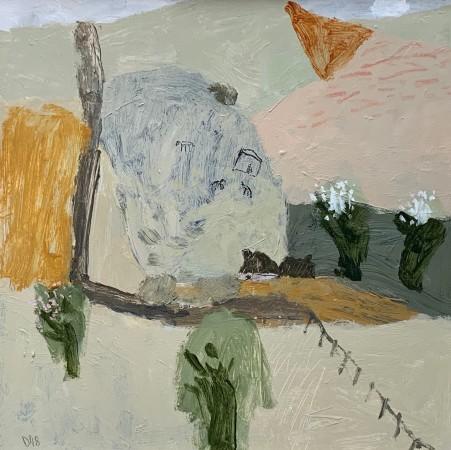 "<span class=""artist""><strong>David Pearce</strong></span>, <span class=""title""><em>Cherry Blossom Farm</em></span>"