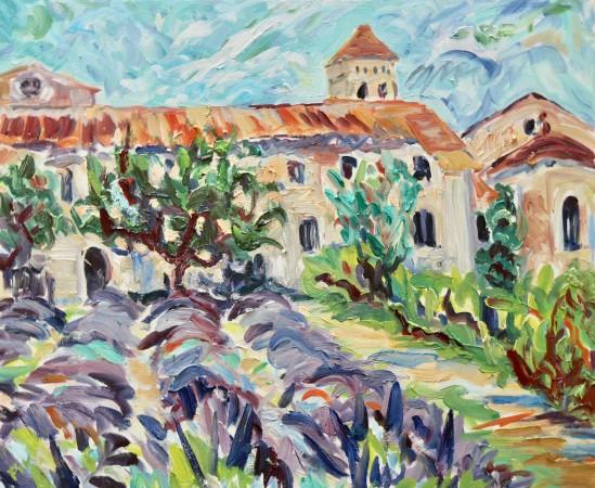 """<span class=""""artist""""><strong>Fi Katzler</strong></span>, <span class=""""title""""><em>St Paul de Mausole (London Gallery)</em></span>"""