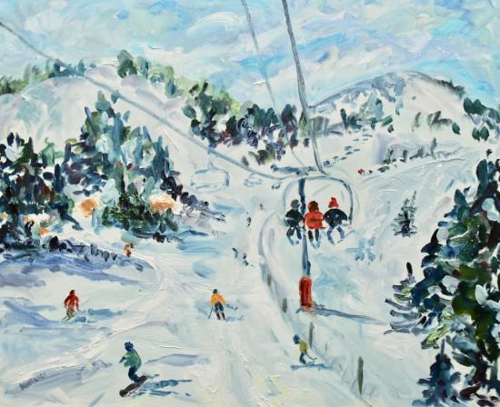 "<span class=""artist""><strong>Fi Katzler</strong></span>, <span class=""title""><em>Sun and Snow (London Gallery)</em></span>"