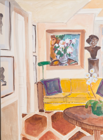 "<span class=""artist""><strong>Lottie Cole</strong></span>, <span class=""title""><em>Interior with Mathew Smith</em></span>"