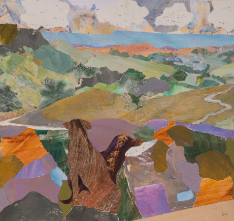 """<span class=""""artist""""><strong>Dione Verulam</strong></span>, <span class=""""title""""><em>On the Moor, Reeth</em></span>"""