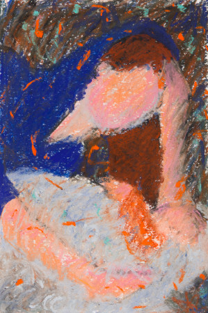 """<span class=""""artist""""><strong>Dione Verulam</strong></span>, <span class=""""title""""><em>Mother and Child II (Hungerford Gallery)</em></span>"""