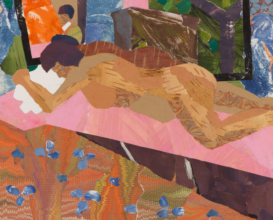 """<span class=""""artist""""><strong>Dione Verulam</strong></span>, <span class=""""title""""><em>Sleeping Model and the Artist</em></span>"""