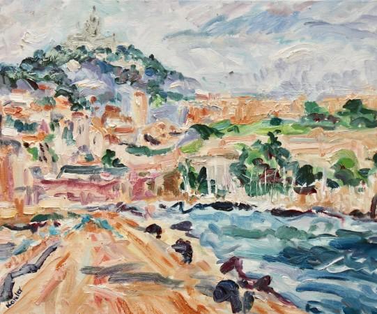 """<span class=""""artist""""><strong>Fi Katzler</strong></span>, <span class=""""title""""><em>Marseille (London Gallery)</em></span>"""