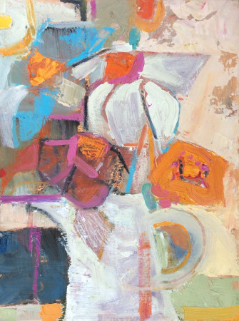 """<span class=""""artist""""><strong>Emma Haggas</strong></span>, <span class=""""title""""><em>Chatty Daisies (Right)</em></span>"""