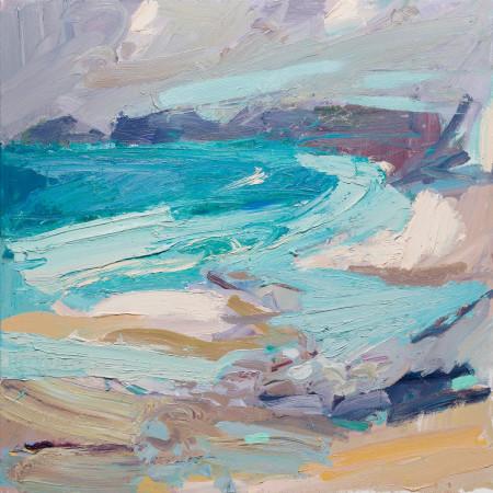 "<span class=""artist""><strong>Paul Wadsworth</strong></span>, <span class=""title""><em>Sennen Cove Yellow Sands</em></span>"