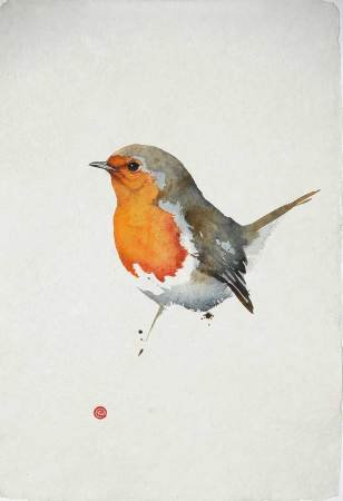 """<span class=""""artist""""><strong>Karl Martens</strong></span>, <span class=""""title""""><em>Robin II</em></span>"""