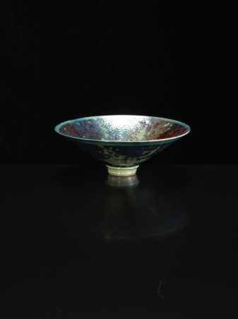 Sutton Taylor, Bowl, Indigo/Copper, 2018