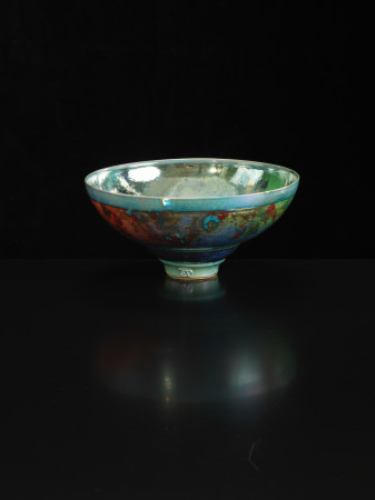 Sutton Taylor, Bowl, Green/Silver, 2018