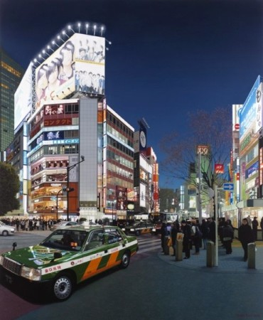 Christian Marsh, Shibuya Crossing at Night, Tokyo