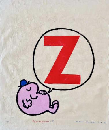 Andrew Mockett, 'Z', 2021