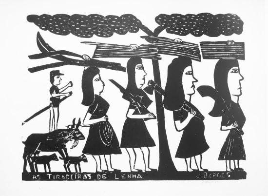 José Borges, As Tiradeiras de Lenha - The Ladies of Firewood , 1989