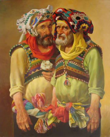 Bakhtiyor Umarov, Two Men, 2008