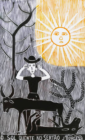 José Borges, O Sol Quente No Sertão - The Hot Sun in The Backcountry, 1999