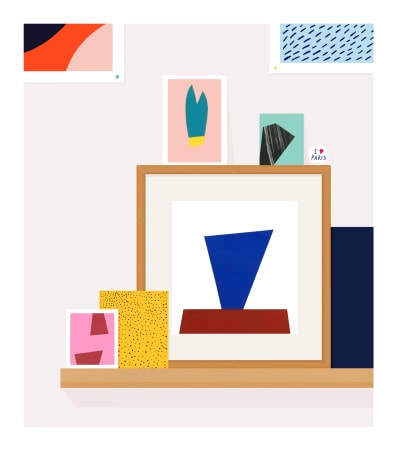 Rose Blake, My Small Shelf, 2017