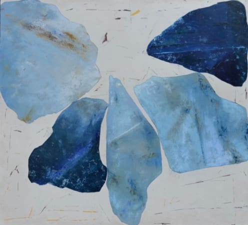 Richard Nott, Blue tumble, 2020