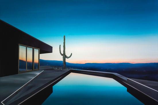 Laurence Jones, Black Desert House, 2021