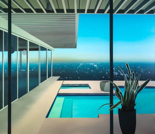 Laurence Jones, Desert Dayglow At Morning, 2021