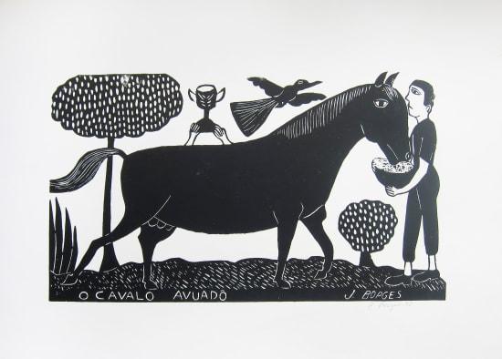 José Borges, O Cavalo Avuadô - The Avuadô Horse, 1995