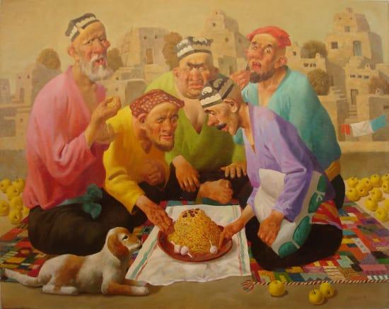 Bakhtiyor Umarov, The Lunch, 2005
