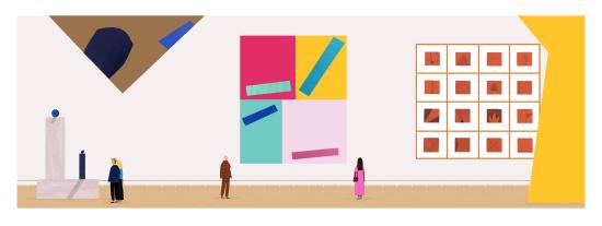 Rose Blake, Gallery Panorama 1, 2017