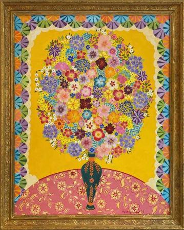 Hepzibah Swinford, Yellow Flowers, 2021