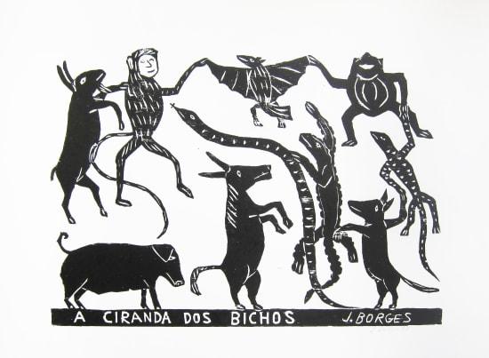 José Borges, A Ciranda Dos Bichos - The Animal Ciranda, 1998