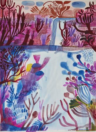 Ashley Amery, Underwater Plunge, 2020