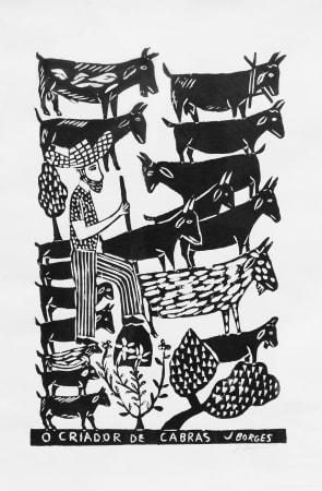 José Borges, O Criador de Cabras - Goat Herder, 1999