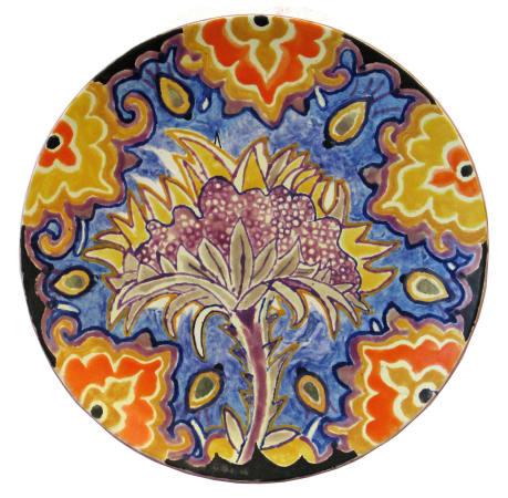 Fons van Laar, Plate Flower 2, 2020