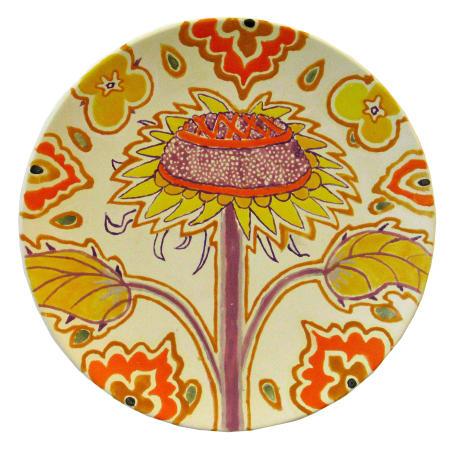 Fons van Laar, Plate Flower 1 , 2020