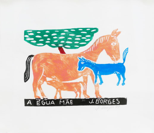 José Borges, A Egua Mae - Mother Horse, 1999