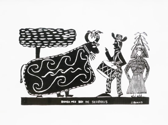 José Borges, Bumba Meu Boi de Beserros - Bumba, My Ox from Beserros, 1998